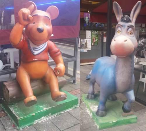 Winnie the Pooh y Asno